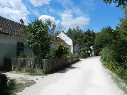 landschaft, landscape, paysage, garten, garde, jardin, bauernhaus, farm house, ferme, zaun, fence, clôture