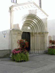 kirche, church, église, tor, gate, porte, tür, door, porte, st. veit an der glan, kirchentür