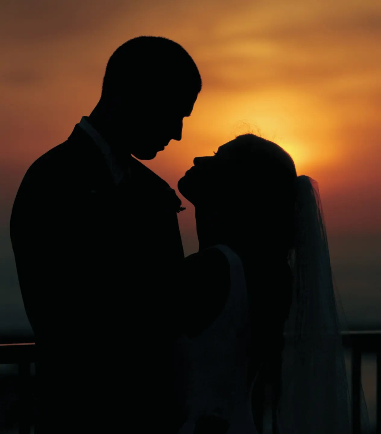 Sunset Outer Banks Wedding Photos at AQUA Restaurant