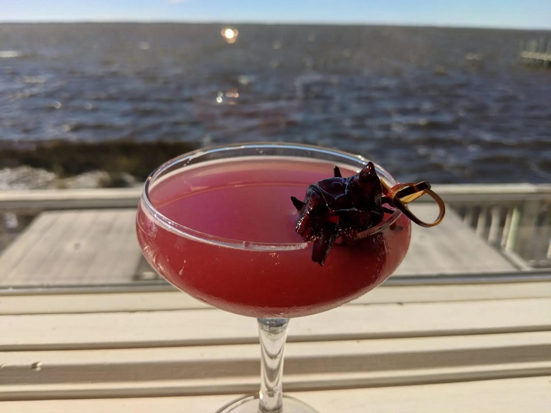 Blueberry vodka and an antioxidant blend