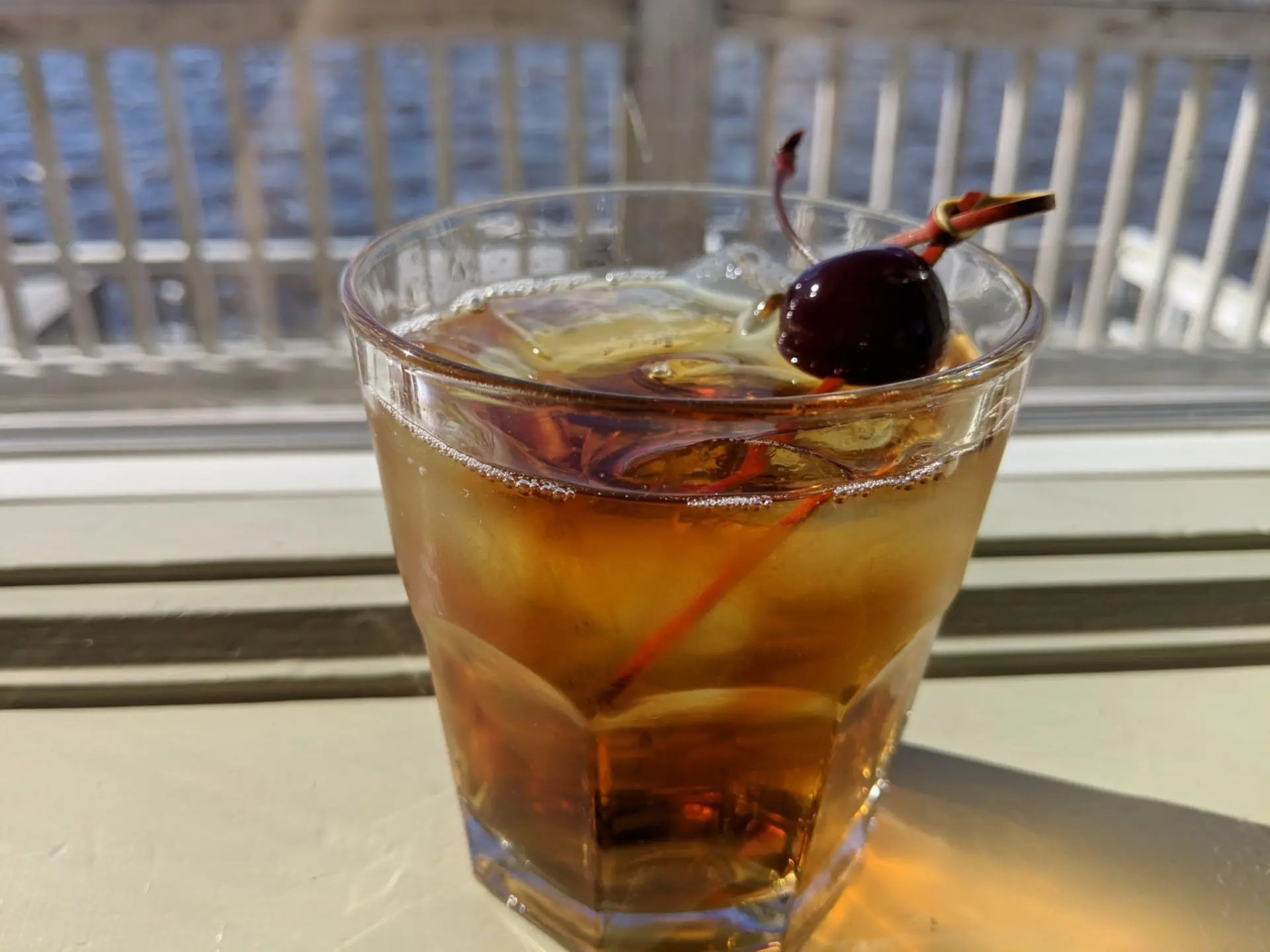 Soundside Manhattan speciality cocktail