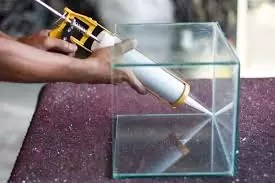 how to reseal a fish tank