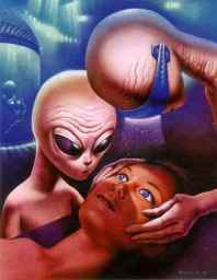 Alien Abduction - Human, Grey ET contact