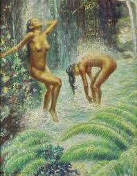 Two Nudes for Enki
