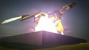 Baalbek rocket lands HC