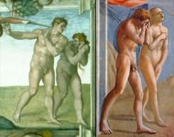 Expulsion comparison Adam & Eve