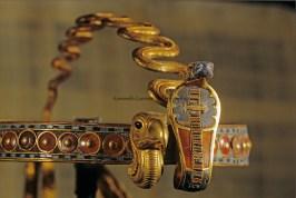 Diadem; Uraeus, Tutankhamun and the Golden Age of the Pharaohs, Page 274