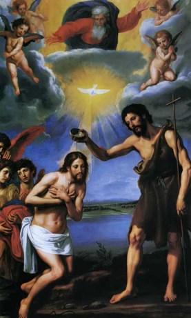 The Baptism of Christ Ottavio Vannini, c. 1640