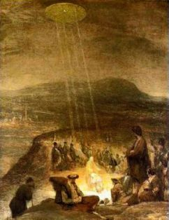 baptism-of-christ with UFO