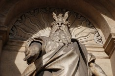 Moses with Horns in Vatican moses-fountain-of-moses