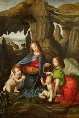 Virgin of Rocks (London and Louvre) -Leonardo Da Vinci-5032cc3ba840c_265092b