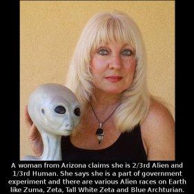 Cynthia Crawford alien