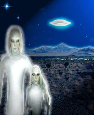 Extraterrestrials Talll Whites