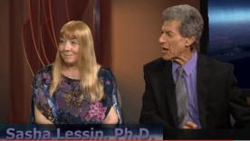 Janet Kira Lessin & Dr Sasha Lessin on Cosmic Cafe show Capture