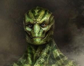 Reptilian lizard