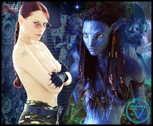 Blue Aliens 2366
