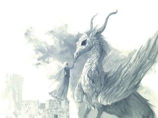 Woman and dragon WgTq0EtaGbU