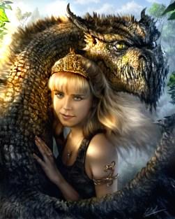 dragon and girl a9ac1d8177c6d8a0e186e6ca36d9cea4