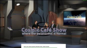 Janet Kira & Dr. Sasha Lessin Cosmic Cafe Episode 2006 Part I