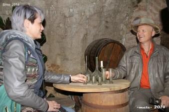 Sam Osmangich 8 Semir and Sabina at The Brno Underground, Photo courtesy WM Magazin