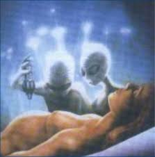 alien abduction woman and grey aliens images