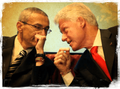 Bill Clinton and John Podesta 241aca8