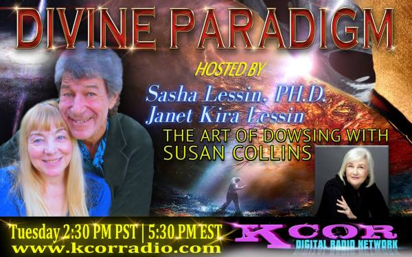 Susan Collins on Divine Paradigm KCOR Radio 13403246_1037573519656999_3492113348822744029_o