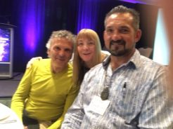 Glenn Bogue Janet Lessin Mark Sorensen Alien Cosmic Expo 2016 IMG_0142