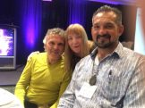 Glenn Bogue Janet Lessin Mark Sorensen Alien Cosmic Expo 2016 IMG_0150