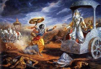 space-warswallpapersxl-mahabharat-lord-krishna-in-hd-72319-640x437