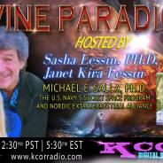 Dr. Michael Salla ~ 03/21/17 ~ Divine Paradigm ~ KCOR ~ Hosts Janet Kira Lessin & Dr. Sasha Lessin