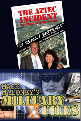 Scott & Suzanne Ramsey Discuss The Aztec UFO Crash with Mack Maloney