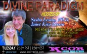 Michael-Tellinger-and-Neil-Gaur-Global-UBUNTU-Liberation-Movement-of-Higher-Consciousness-Divine-Paradigm-Dr-Sasha-Lessin-Janet-Kira-Lessin-KCOR-Digital-Radio-Network-Flyer