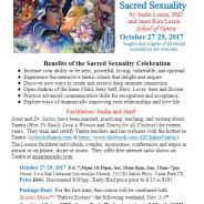 Events ~ Celebrate Sacred Sexuality ~ 10/27/17-10/29/17 ~ Austin, Texas