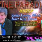 William White Crow ~ 06/27/17 ~ Divine Paradigm ~ KCOR ~ Hosts Janet Kira Lessin & Dr. Sasha Alex Lessin