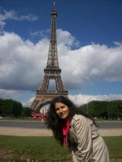 Violeta Vranjkovic Eiffel Tower 300x300