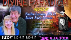 Cheryl Costa ~ 08/22/17 ~ Divine Paradigm ~ KCOR ~ Hosts Janet Kira Lessin & Dr. Sasha Alex Lessin