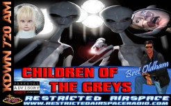 Bret Oldham Children of the Greys Flyer