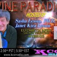 Elizabeth April ~ 09/24/17 ~ Sacred Matrix ~ Revolution Radio ~ Hosts Janet Kira Lessin & Dr. Sasha Alex Lessin