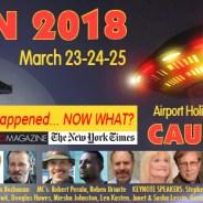 CA UFO Con 2018 ~ March 23, 24 & 25, 2018