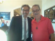 Steve Boucher with Richard Dolan