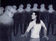 Tall White Reptilian Aliens рпт34