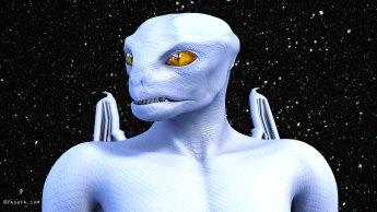 Tall White Reptilian Aliens Royal-White-Draco-1