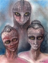 Tall White Reptilian Aliens reptilian-shape-shifting
