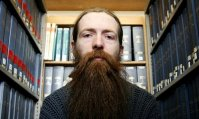 Aubrey de Grey, geneticist at Cambridge University, Britain - 21 Mar 2005