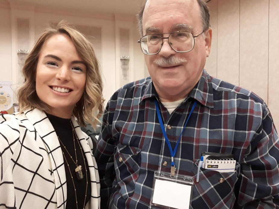 Elizabeth April & Bruce Cornet ~ 2020 UFO Mega Conference ~ Laughlin, Nevada
