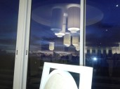 The sunset was amazing from this window! Garden and sea view!
