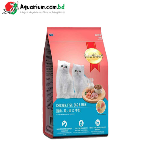 SmartHeart Chicken, Fish, Egg & Milk-Kitten(1.1kg)