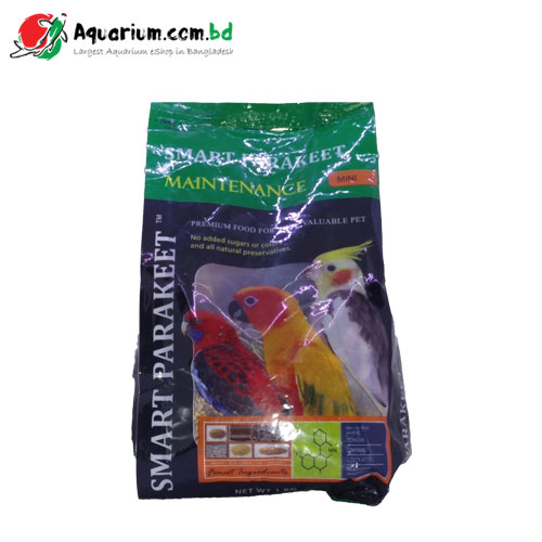 Smart Parakeet Maintenance- Premium Food for Birds