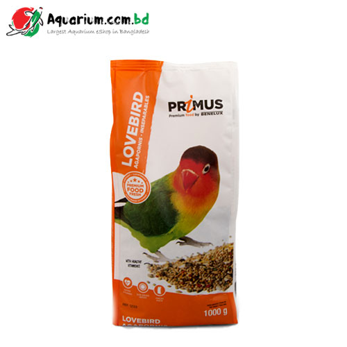 Primus, premium food for lovebirds(1Kg)